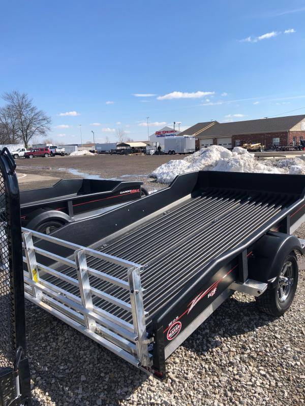 2021 Floe CM-XRT 11-73 Utility Trailer - 73x11 SA - Alum. Frame - Tailgate - Torsion Axle - Rugged Molded Ultra Body - 3 Loading Stages (GVW:  2990)