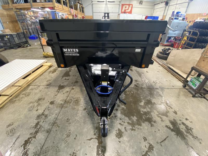 2021 Load Trail DT8312072 Dump Trailer - 83x12 TA - Tarp Kit - 24 Inch Dump Sides - 2-Way Gate - Slide In Ramps - Scissor Hoist - D-Rings - Spare Tire MOUNT ONLY (GVW:  14000)