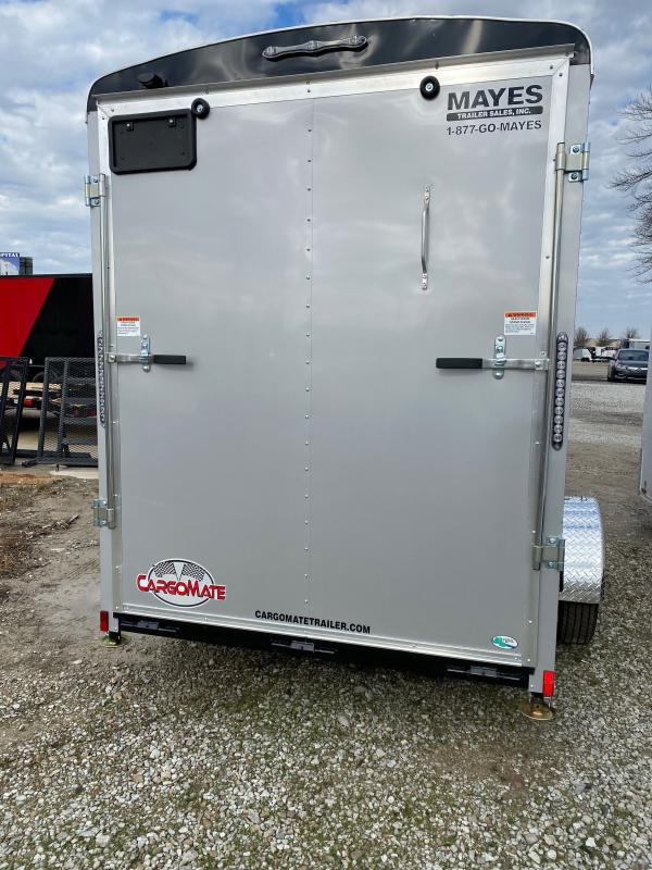 2021 Cargo Mate BL612SA Enclosed Cargo Trailer - 6x12 SA - Ramp Door - Torsion Axle - 12 Inch Additional Height (GVW:  2990)