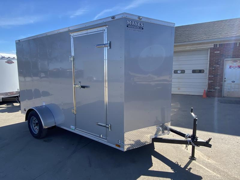 2021 Cargo Mate SSV612SA Enclosed Cargo Trailer - 6x12 SA - Ramp Door - Side Door - 6 Inch Additional Height (GVW:  2990)