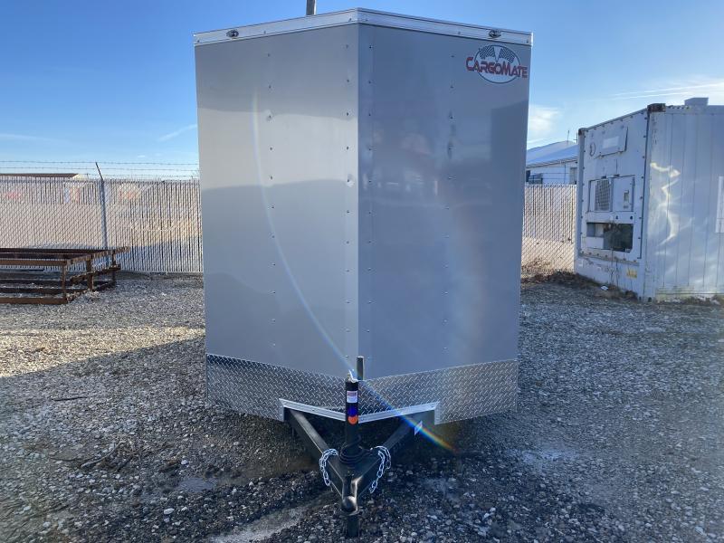 2021 Cargo Mate SSV612SA Enclosed Cargo Trailer - 6x12 SA - Ramp Door - Side Door - 6 Inch Additional Height (GVW:  2990)