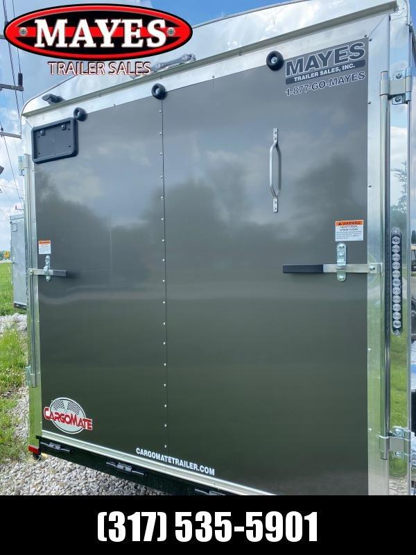 2022 Cargo Mate BL714TA2 Enclosed Cargo Trailer - 7x14 TA - Ramp Door - Torsion Axles - Poly Sides (GVW:  7000)
