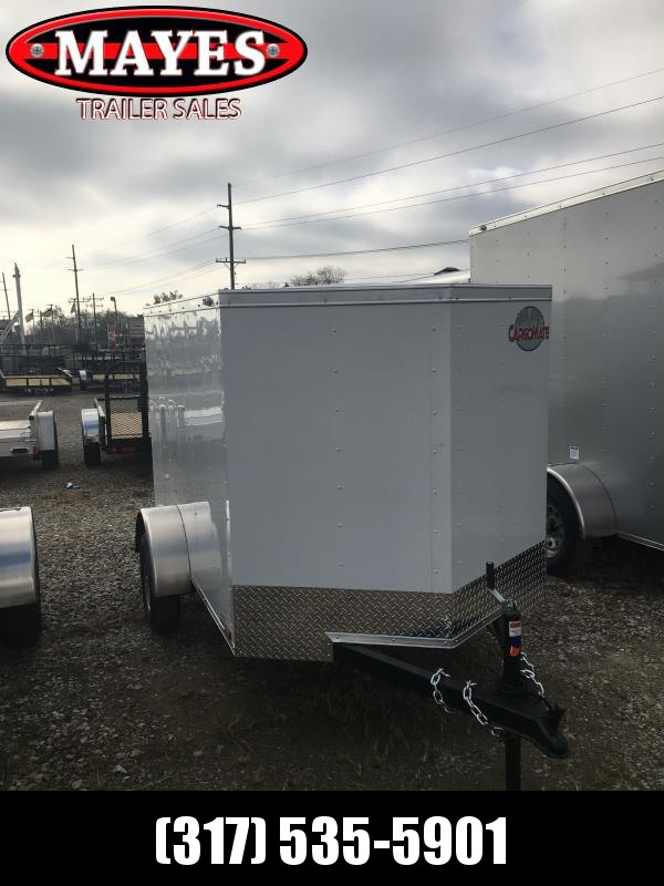 2021 Cargo Mate SSV58SA Enclosed Cargo Trailer - 5x8 SA - Single Rear Door (GVW:  2000)