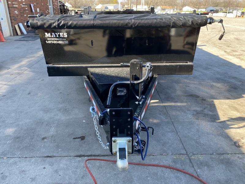 2021 B-B LPD83X14E702 Dump Trailer - 83x14 TA Dump - Tarp Kit - 2 Foot Sides - D-Rings - KIT Power Unit (Power Up/Power Down/Gravity Down) (GVW:  14000)