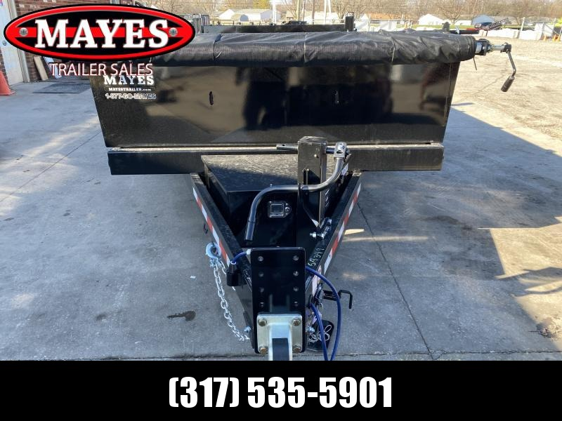 2021 B-B LPD83X14E702 Dump Trailer - 83x14 TA Dump - Tarp Kit - 2 Foot Sides - D-Rings - KIT Power Unit (Power Up/Power Down/Gravity Down) (GVW:  14000)