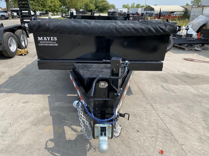 2021 B-B LPD83X14E702 Dump Trailer - 83x14 TA Dump - Tarp Kit - Champion Hoist - 3/16 Inch Steel Floor - D-Rings (GVW:  14000)