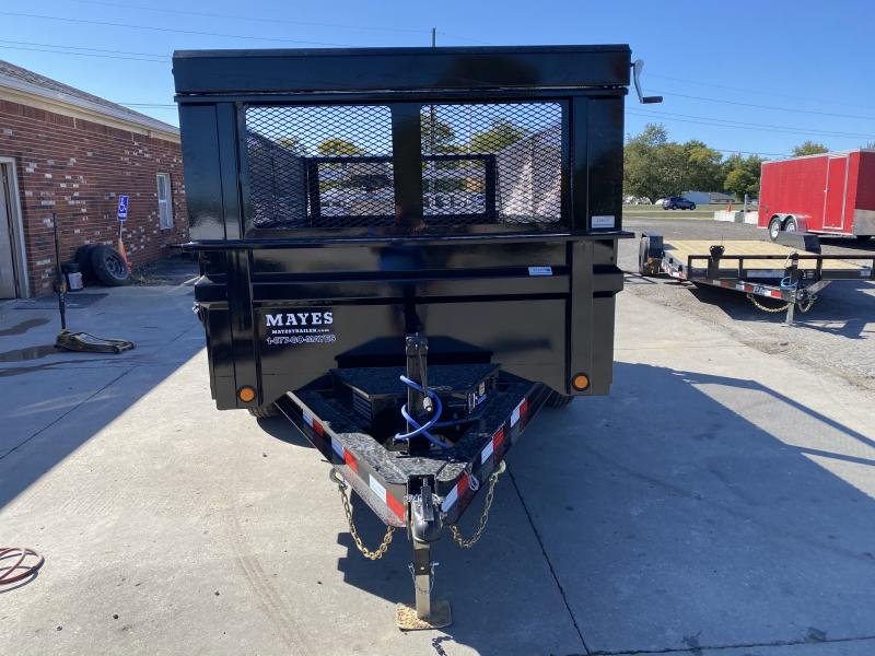 2021 Load Trail DT7212052 Dump Trailer - 72x12 TA Dump - Slide In Ramps - 3-Way Gate - Tarp Kit - Spare Tire MOUNT ONLY (GVW:  9990)