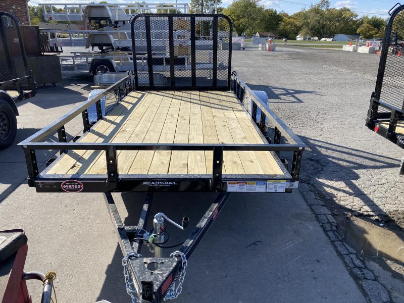 2021 PJ Trailers U2121 Utility Trailer - 72x12 SAUT - Straight Deck - Fold In Gate (GVW:  2995)