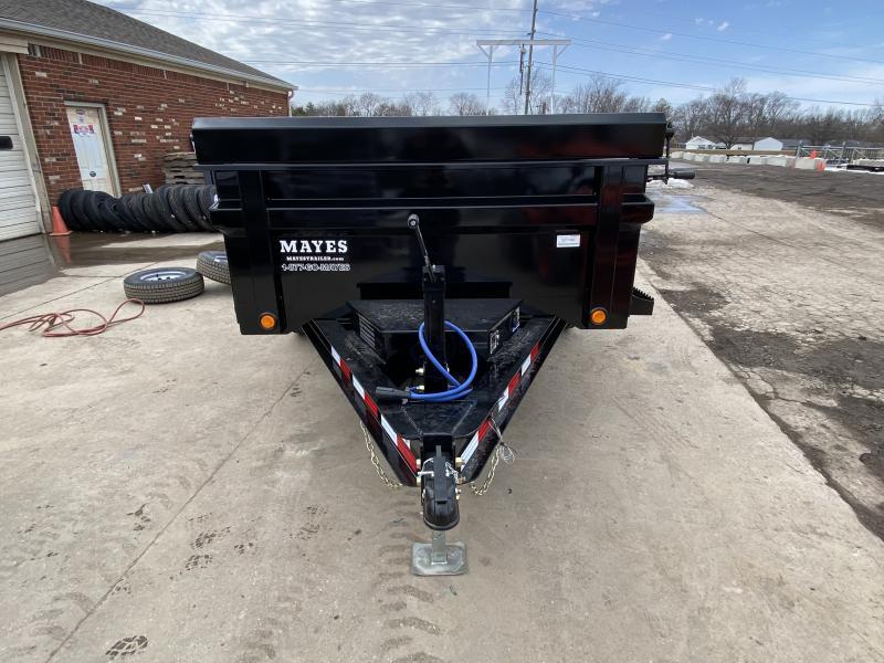 2021 Load Trail DT7212052 Dump Trailer - 72x12 TA - Tarp Kit - 24 Inch Dump Sides - 2-Way Gate - Slide In Ramps - Scissor Hoist - D-Rings - Spare Tire MOUNT ONLY (GVW:  9990)