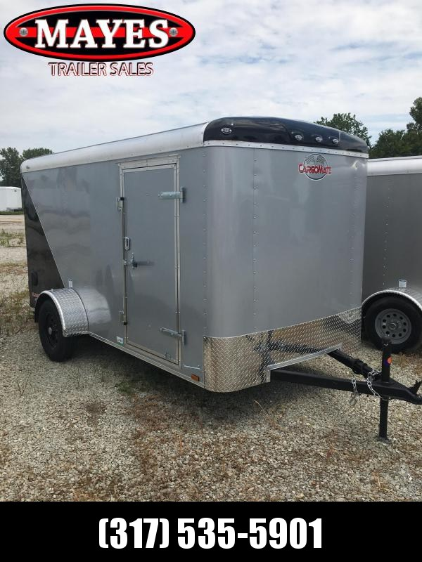 2021 Cargo Mate BL612SA Enclosed Cargo Trailer - 6x12 SA - Ramp Door - Side Door - Torsion Axle - Two Tone (GVW:  2990)