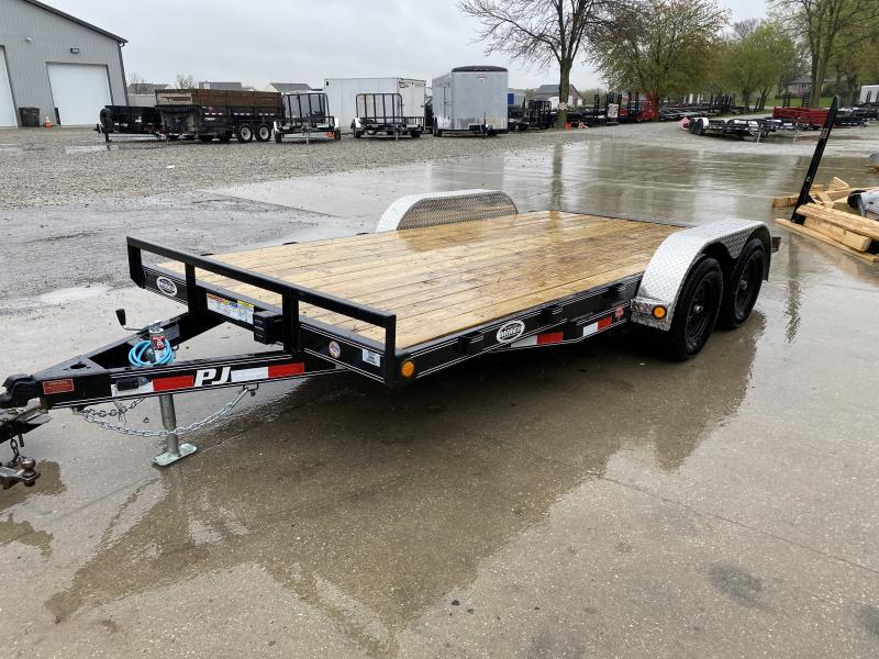 2020 PJ Trailers 83x16 (14+2) Channel Carhauler (C5) Car / Racing Trailer
