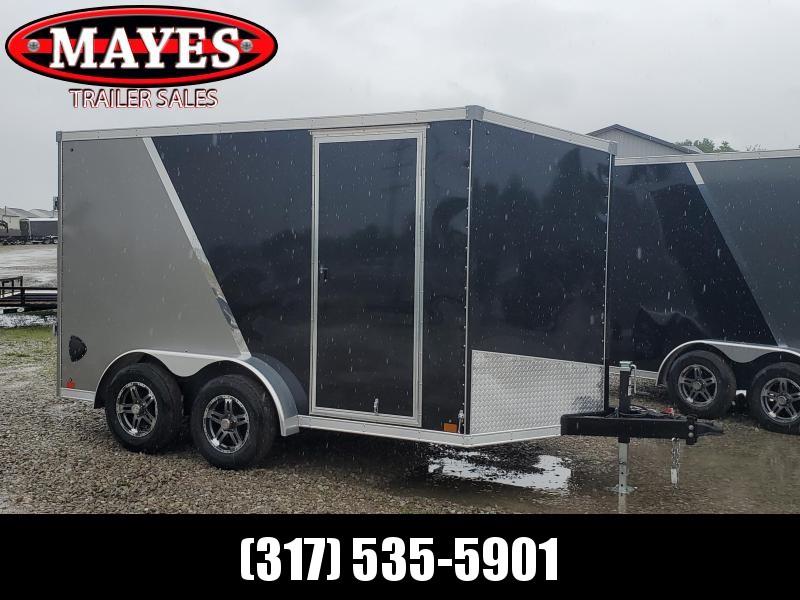 2021 Sport Trailers VECS712TA35-S Enclosed Cargo Trailer - 7X12 TA - Ramp Door - Aluminum Roof - Alum. Wheels (GVW:  7700)