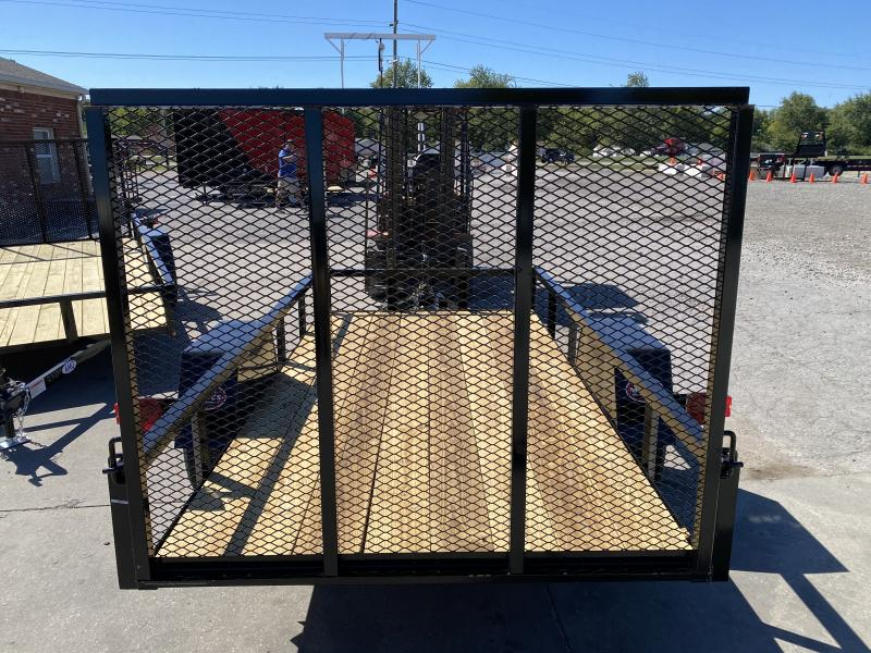 2021 American Manufacturing Operations (AMO) US101 Utility Trailer - 60x10 SA - Tailgate - 2 Inch Coupler (GVW:   2990)