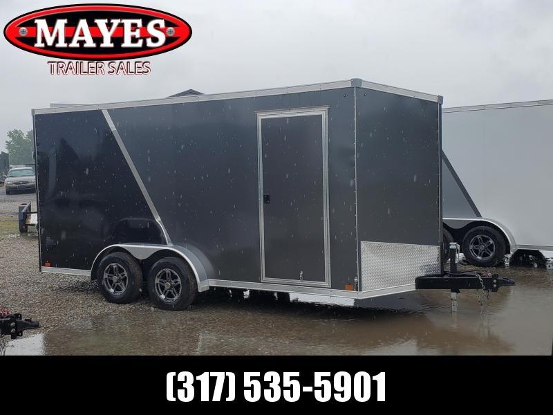 2021 Sport Trailers VECS716TA35-S Enclosed Cargo Trailer - 7x16 TA - Ramp Door - Alum. Roof - 6 Inch Additional Height (GVW:  7700)