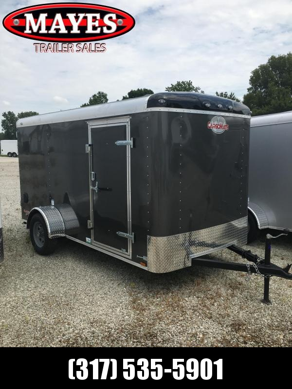 2021 Cargo Mate BL612SA Enclosed Cargo Trailer - 6x12 SA - Ramp Door - Torsion Axle - Side Door (GVW:  2990)