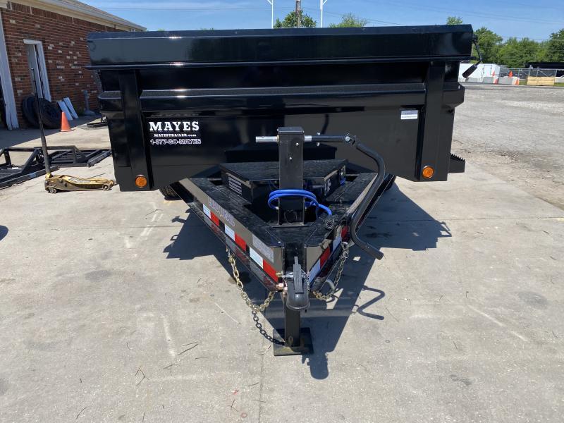 2021 Load Trail DT8314072 Dump Trailer - 83X14 TA - 2-Way Gate - 24 Inch Dump Side - Scissor Hoist - Spare Tire MOUNT ONLY (GVW:  14000)
