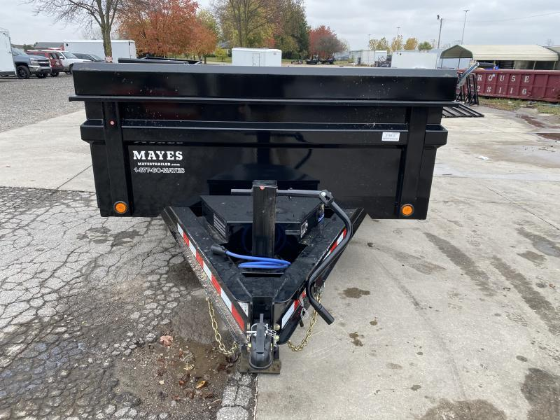 2021 Load Trail DT8312072 Dump Trailer - 83x12 TA Dump - 24 Inch Dump Sides - 2 Way Gate - Slide In Ramps - Scissor Hoist - D-Rings - Spare Tire and Wheel (GVW:  14000)