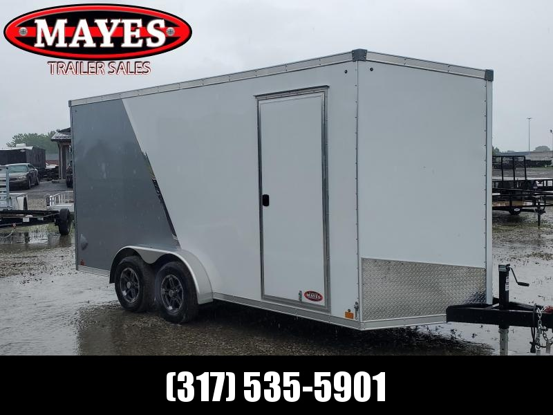 2021 Sport Trailers VCES716TA35-S Enclosed Cargo Trailer - 7x16 TA - Ramp Door - Alum. Roof - 6 Inch Additional Height (GVW:  7700)