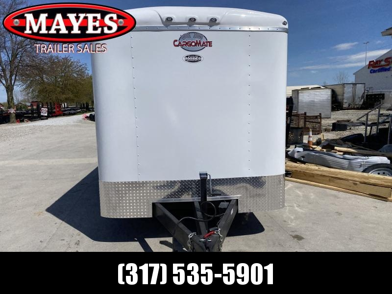 2020 7x14 TA Cargo Mate BL714TA3 Enclosed Cargo Trailer - Ramp Door - Torsion Axles - .080 Roof Cove (GVW:  9800)