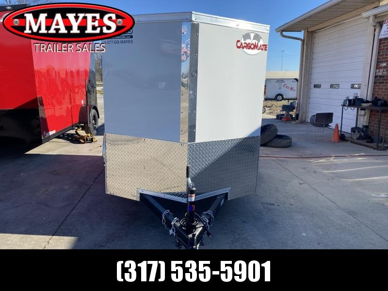 2021 Cargo Mate EHW58Sa Enclosed Cargo Trailer - 5x8 SA - Ramp Door - E & V Series Pkg. #2 - Stabilizer Jacks (GVW:  2990)