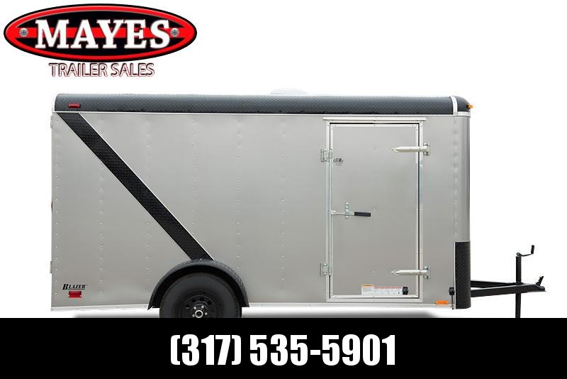 2022 Cargo Mate BL612SA Enclosed Cargo Trailer - 6x12 SA - Double Door - Side Door - Alum. Roof - Poly Core Sides (GVW:  2990)