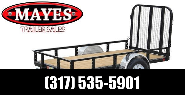 2020 5x8 PJ Trailers Single Axle Channel (U6) Utility Trailer - w/ Fold-in Gate (GVW: 2995)