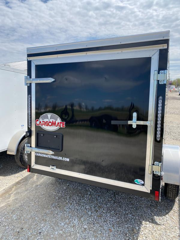2022 Cargo Mate SSV58SA Enclosed Cargo Trailer - 5x8 SA - Single Rear Door - Leaf Spring Suspension (GVW:  2000)