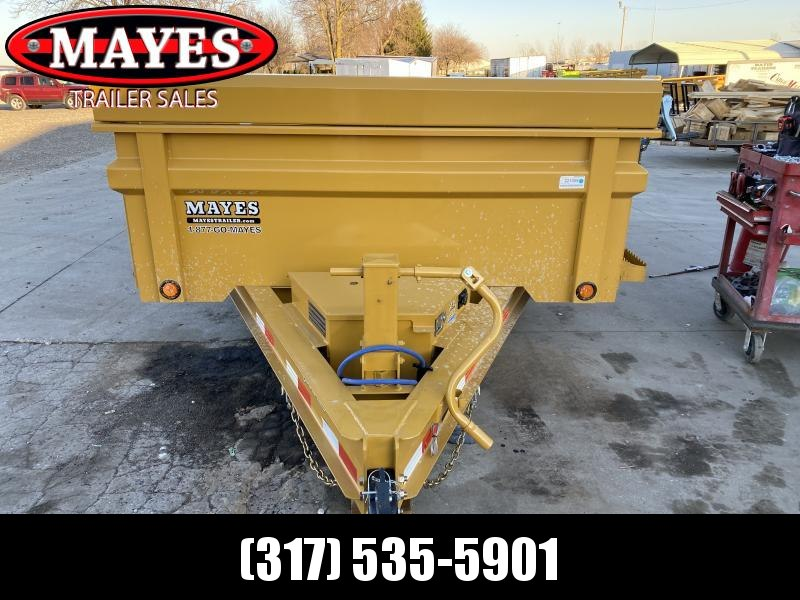 2021 Load Trail DT8314072 Dump Trailer - 83x14 TA Dump - 24 Inch Dump Sides - 2 Way Gate - 10 Gauge Floor - Slide In Ramps - Scissor Hoist - Spare Tire MOUNT ONLY (GVW:  14000)