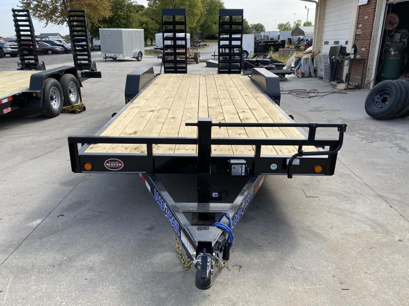 2021 Load Trail XH8320072 Car / Racing Trailer - 83X20 (18+2) TA - Dovetail - DP Fenders - D-Rings - Fold Up Ramps (GVW:  14000)