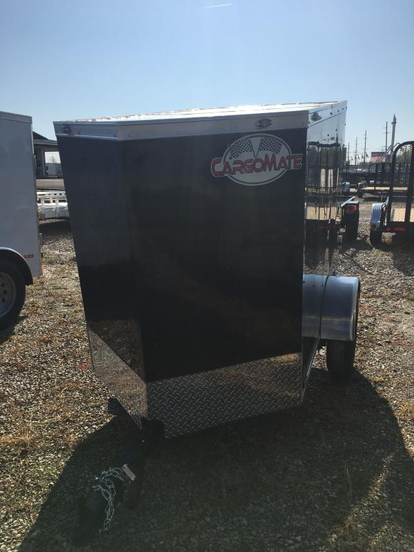 2021 Cargo Mate SSV46SA Enclosed Cargo Trailer - 4x6 SA - Single Rear Door - Spring Suspension (GVW:  2000)
