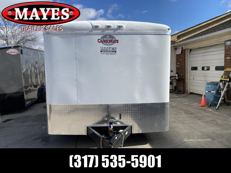 2021 Cargo Mate CM822TA3 Enclosed Cargo Trailer  - 102x22 TA - 102 Inch Wide Body Design - Ramp Door - No Show Beavertail - Additional Floor Crossmembers - Alum. Rims (GVW:  9800)