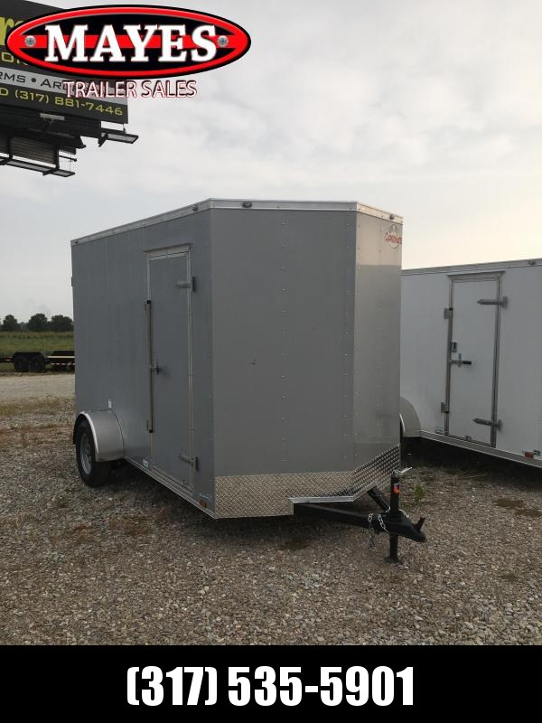 2021 Cargo Mate SSV612SA Enclosed Cargo Trailer - 6x12 SA - Ramp Door - 12 Inch Additional Height (GVW:  2990)