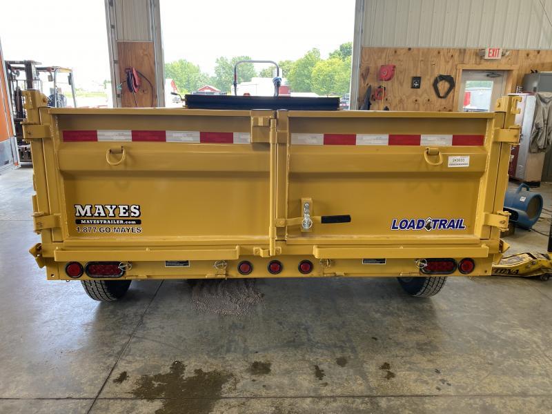 2022 Load Trail DT8314072 Dump Trailer - 83x14 TA - Tarp Kit - Spare Tire MOUNT ONLY - Scissor Hoist - Ramps - D-Rings (GVW:  14000)