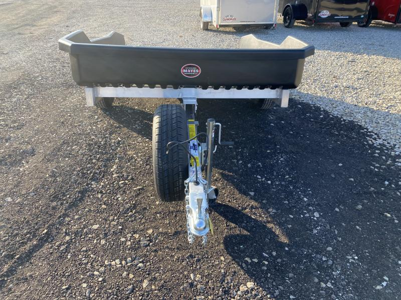 2021 Floe CM-XRT 9.5-73 Utility Trailer - 73x9.5 SA - Alum. Frame - Tailgate - Torsion Axle - Rugged Molded Ultra Body - 3 Loading Stages (GVW:  2990)