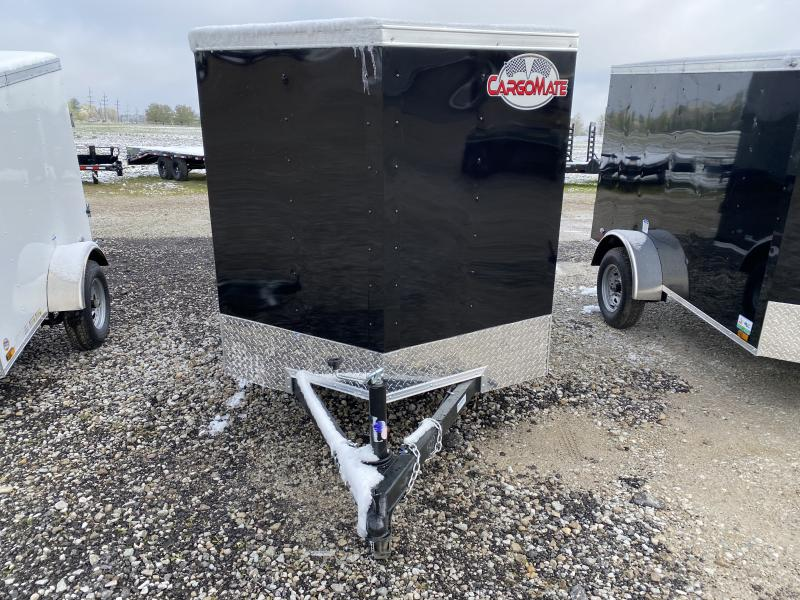 2021 Cargo Mate SSV58SA Enclosed Cargo Trailer - 5x8 SA - Single Rear Door - D-Rings (GVW:  2000)