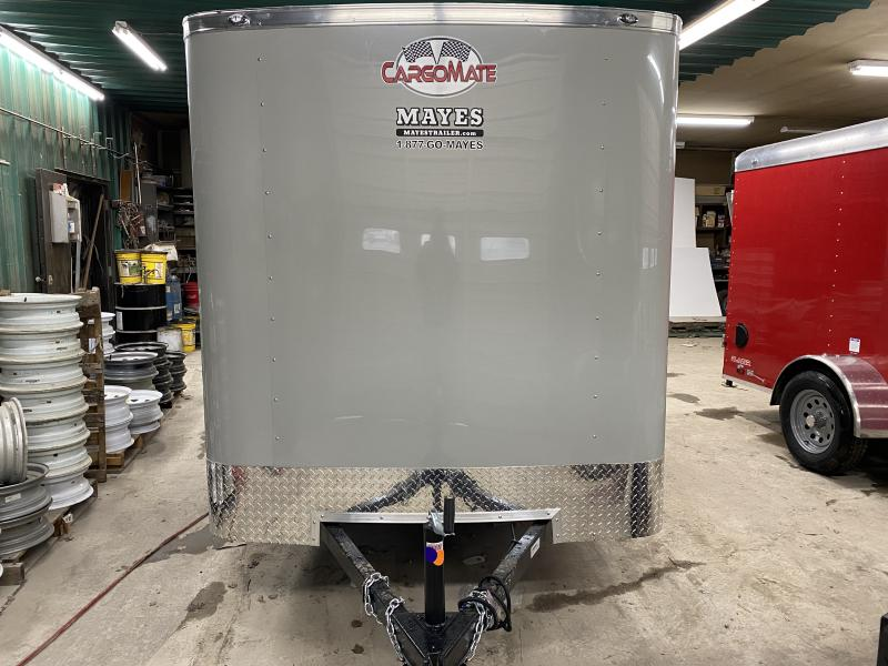 2021 Cargo Mate SS610SA Enclosed Cargo Trailer - 6x10 SA - Double Door - 6 Inch Additional Height - .030 Metal Upgrade (GVW:  2990)