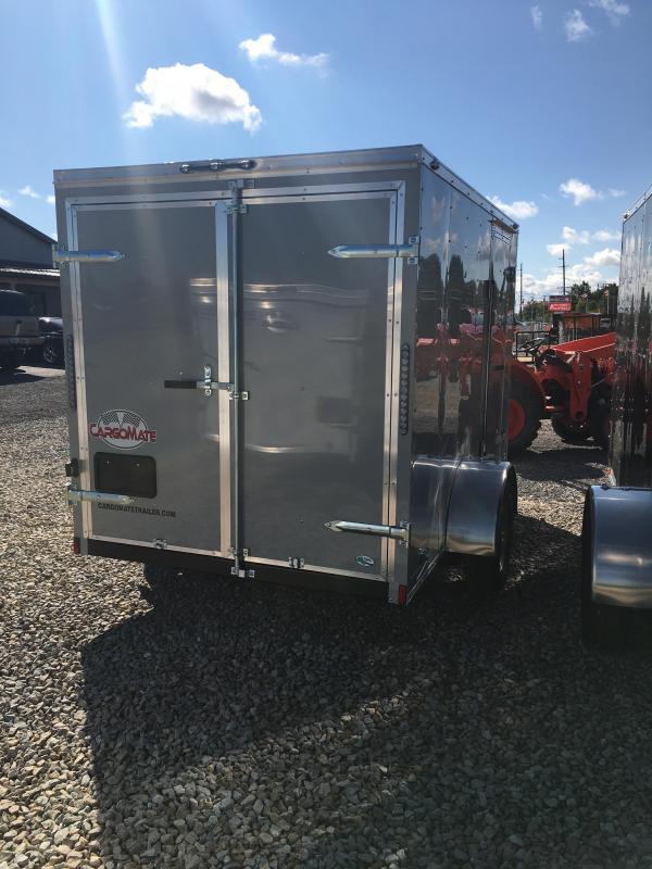 2021 Cargo Mate SS610SA Enclosed Cargo Trailer - 6x10 SA - Double Door - 6 Inch Additional Height - .030 Metal Upgrade (GVW:  2990)