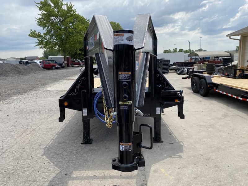 2020 102x32(23' + 9' Hydraulic Dovetail) Load Trail Deckover (GVW: 24000)