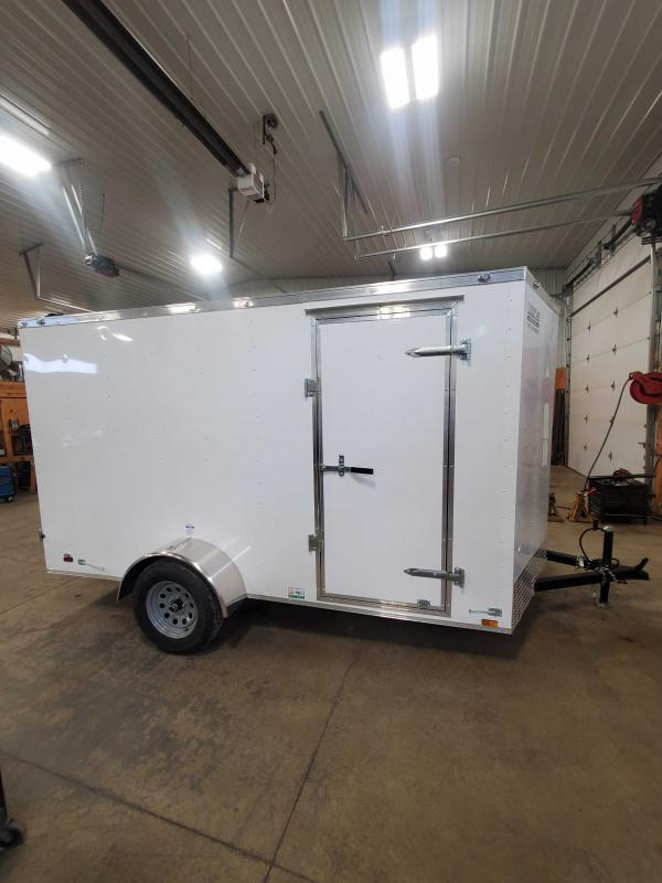 2021 Cargo Mate SSV612SA Enclosed Cargo Trailer - 6x12 SA - Double Door - 6 Inch Additional Height (GVW:  2990)