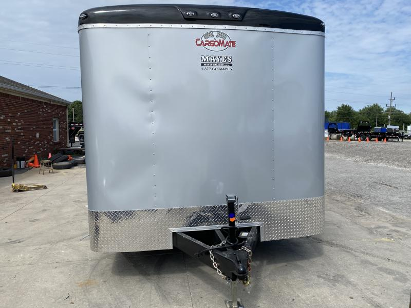 "2021 Cargo Mate BL820TA3 Enclosed Cargo Trailer - 102x20 TA - 6 Inch Additional Height - 102"" Wide Body Design - Recessed Wall Mount E-Tracking - HD Cage Package - HD Tongue Jack - Ramp Door - Torsion Axles (GVW:  9800)"