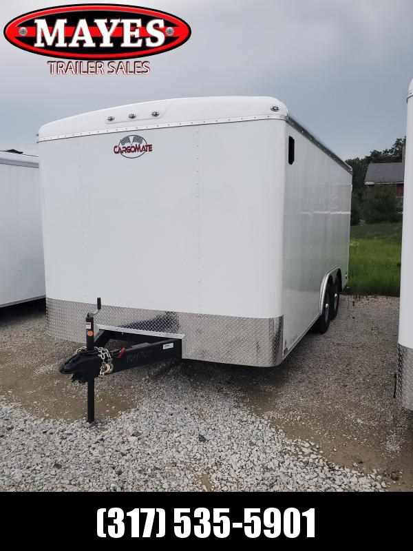 2021 102x16 Cargo Mate BL816TA3 Enclosed Cargo Trailer - White (RD)(GVW: 9800)