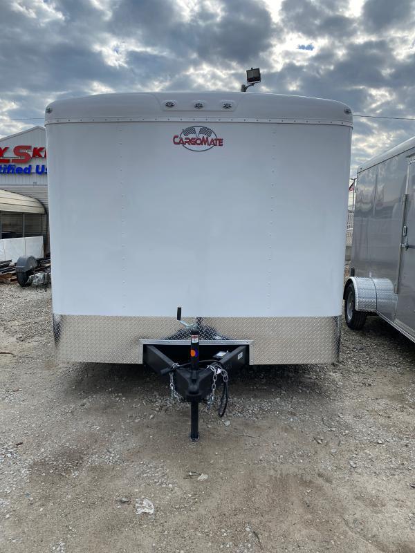 2021 Cargo Mate BL820TA2 Enclosed Cargo Trailer - 102x20 TA - Ramp Door - Torsion Axle - D-Rings (GVW:  7000)