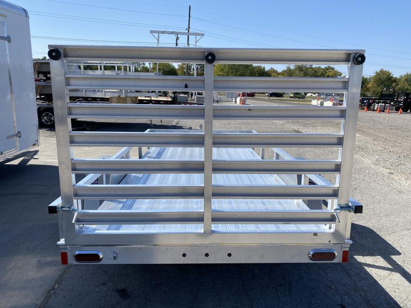 2021 Sport Trail OUA612 Utility Trailer - 6x12 SAUT - Alum. Floor - Rear Ramp Gate w/Dual Locking Positions - Ramp Gate Lays Flat (GVW:  2990)