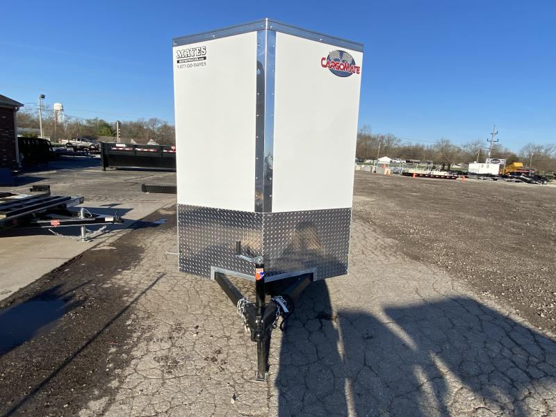 2022 Cargo Mate EHW512SA Enclosed Cargo Trailer - 5x12 SA - Side by Side Package - Ramp Door - D-Rings - 12 Inch Additional Height (GVW:  2990)
