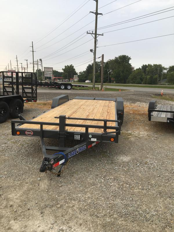 2021 Load Trail CH8322072 - 83x22 (20+2) TA Car Hauler - DP Fenders - Max Ramps - Spare Tire MOUNT ONLY (GVW:  14000)