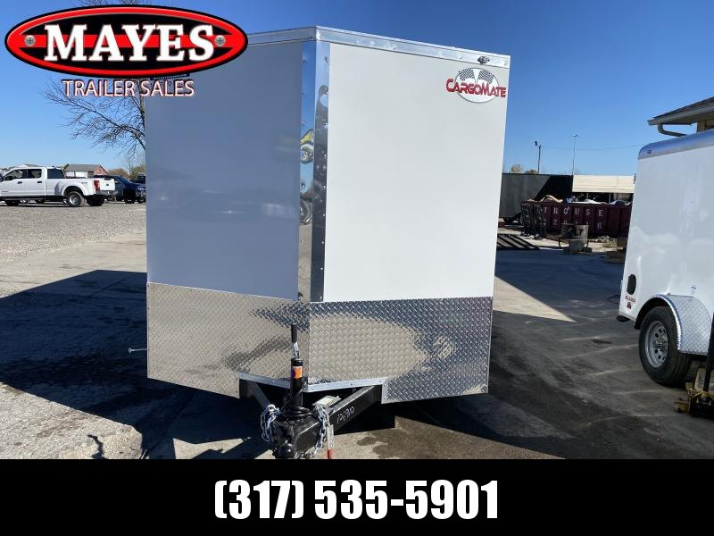 2021 Cargo Mate EHW714TA2 Enclosed Cargo Trailer - 7x14 TA - Ramp Door - E & V Pkg 2 - Stabilizer Jacks (GVW:  7000)