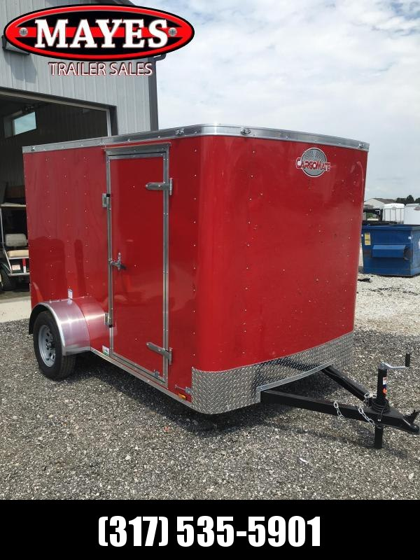 2021 Cargo Mate SS610SA Enclosed Cargo Trailer - 6x10 SA - Ramp Door - .030 Metal Upgrade - 6 Inch Additional Height (GVW:  2990)