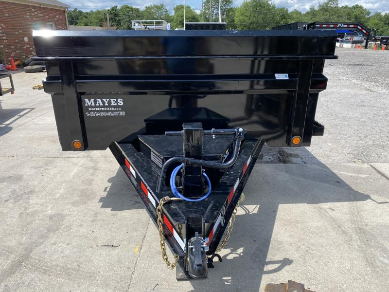 "2021 Load Trail DT8316072 Dump Trailer - 83x16 TA - 24"" Dump Sides with 2 Way Gate - Rear Slide In Ramps - Toolbox - Scissor Hoist - Tarp Kit - Spare Tire MOUNT ONLY (GVW:  14000)"