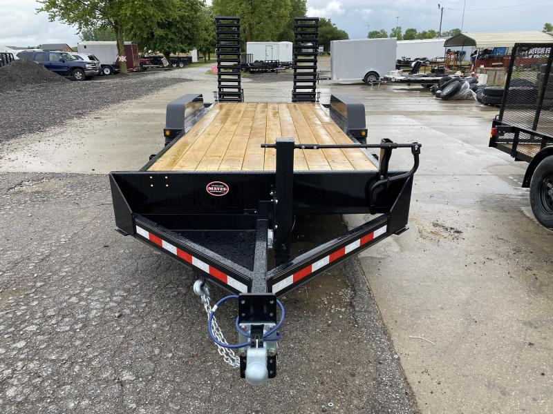 2020 B-B 83x20  (18+2) CBCT2014E-S Equipment Trailer - D-Rings - Flip Up Ramps (GVW:  14000)