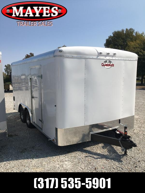 2021 Cargo Mate BL816TA2 Enclosed Cargo Trailer - 102x16 TA - 102 Inch Wide Body Design - Ramp Door - Torsion Axles (GVW:  7000)